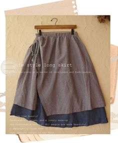 Cafe Style Long Skirt