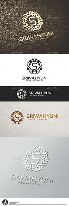 Sriwahyuni Logo Template #design #logotype Download: http://graphicriver.net/item/sriwahyuni-logo/10623864?ref=ksioks