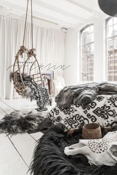 ☆ © Paulina Arcklin | NOMADS Panthera Ikat bedding available on www.bohzaar.co.uk