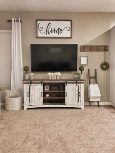 35 Best Minimalist Farmhouse TV Stand Ideas For Your Living Room Design. 35 Best Minimalist Farmhouse TV Stand Ideas For Your Living Room Design. living room decor ideas More info could be found at the image url. Rustic House, Home And Living, Home Living Room, Home Remodeling, Home, Living Room Tv, Interior, Farm House Living Room, Home Decor