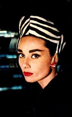 """Audrey Hepburn for """"Harper's Bazaar"""" in 1958. EXCUSE ME ARE YOU HUMAN."""