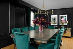 See the before of this dramatic transformation using our budget friendly e-design service by Toronto designer Amanda Forrest. Amanda Forrest, Dining Bench, Dining Rooms, Service Design, Design Projects, Interior Design, Furniture, Toronto, Budget