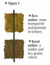 Raw Umber/Burnt Umber