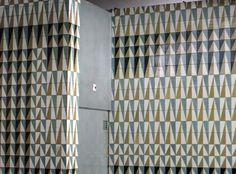 Maria Keil - Parque Metro Station - Lisbon Portugal, Portuguese Tiles, Metro Station, Wall Patterns, Tile Art, Tile Design, Art World, Fresco, Design Inspiration