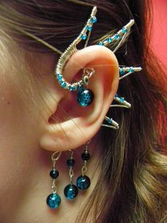 Dragon Wing Ear Cuff by ~NyuAnnn on deviantART