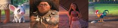 Find out which Moana characters make up who you are.