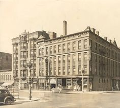 Cody Hotel :: GRPL Photographs Collection - Located on the corner of Division & Fulton, where the UICA now stands.