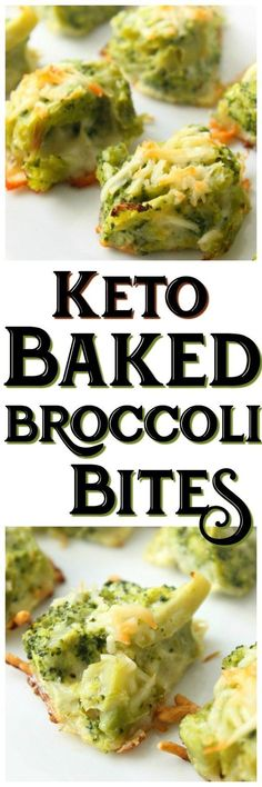 Keto Baked Broccoli Bites!!! - Low Recipe