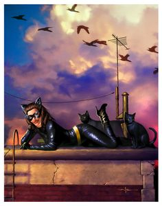 Catwoman by Valzonline.deviantart.com on @deviantART