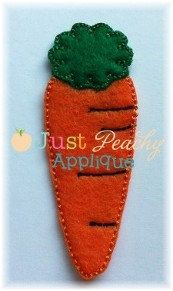 Carrot Clippy for Easter Bunny Machine by JustPeachyApplique, $4.00