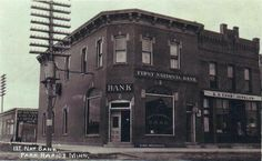 First National Bank, Park Rapids Minnesota, Park Rapids Minnesota, Old Photos, Photo Galleries, Cabin, Vacation, Mansions, Live, House Styles, Gallery