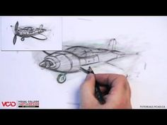 Learn how to draw an airplane in two point perspective Part 4 of 5 Visual College of Art and Design of Vancouver  626 West Pender Street #500  Vancouver, BC V6B 1V9  (800) 356-8497    Watch all VCAD tutorials: http://tutorials.vcad.ca/  Subscribe to VCAD: http://youtube.com/subscription_center?add_user=VancouverVCAD  Like VCAD: http://facebook.com/VCAD.ca  Follow VCAD: http://twitter.com/vcad    #airplane #howto #draw #drawing #tutorial