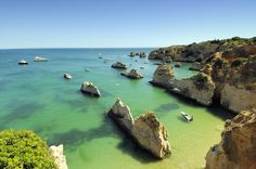 #46 Praia do Alemão, Alrgave, Portugal | 4 Portuguese beaches are part of Condé Nast Traveler España's list of the Top 50 beaches in the world! Come and visit them!