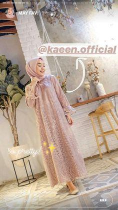 Hijab Gown, Kebaya Hijab, Hijab Dress Party, Hijab Style Dress, Kebaya Dress, Dress Pesta, Dress Brukat, Batik Dress, Caftan Dress