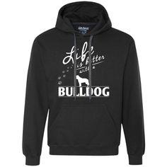 I Love My Beagle - Heavyweight Pullover Fleece Sweatshirt