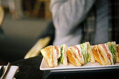 Club sandwiches. #food