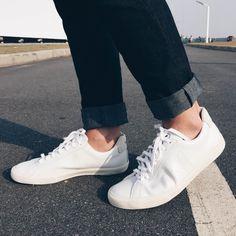 Tênis branco, white shoes