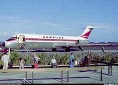 McDonnell Douglas DC-9-31 aircraft picture - Kona Hawaii 1975