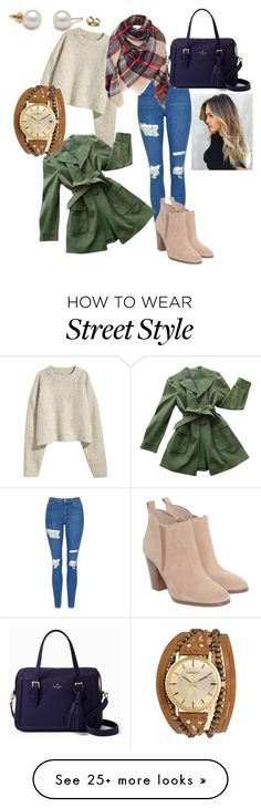 """""""Untitled #3"""" by megancgphaup on Polyvore featuring Topshop, Michael Kors, Ann Taylor, Kate Spade and Kahuna"""