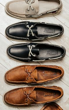 Prepped and ready for summer 2015 with a classic pair of Sebago boat shoes.