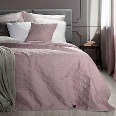 Cuvertura Odeta Pink, 220 x 240 cm Comforters, Blanket, Inspiration, House, Home Decor, Interiordesign, Furniture, Luxury, Creature Comforts