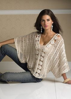 Made to order spring / fall women crochet blouse by AsDidy on Etsy, $135.00