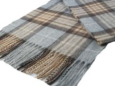 Lambswool check scarf - McKellar tartan