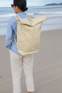 WAYKS ONE: The Sustainable Backpack for the Style-Conscious Traveler Sustainable Gifts, Sustainable Fashion, Travel Backpack, Fashion Backpack, Stylish Backpacks, Vegan Gifts, Fair Trade Fashion, Luggage Cover, Green Gifts
