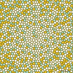 """Voronoi diagram of a Penrose tiling"" - by Jos Leys"