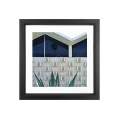 Californians are partial to their unique brand of architecture, reveling in the dramatic materials used to line residential streets with cutting-edge design motifs. Concrete and glass are celebrated re...  Find the Eureka Art Print, as seen in the Timeless Mid-Century Ranch Collection at http://dotandbo.com/collections/timeless-mid-century-ranch?utm_source=pinterest&utm_medium=organic&db_sku=112637