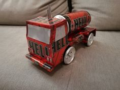 Hell tanker truck (soda can)