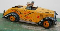 Tin Lizzy, blikken auto