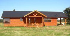 Modelos de Nuestras Casas Prefabricadas - Casas Prefabricadas Resort Style At Home, Simple House Design, Ideas Para, Shed, Farmhouse, Outdoor Structures, Cabin, House Styles, Home Decor