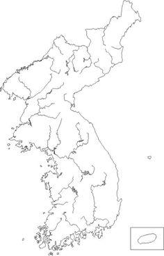 우리나라 '백지도' 산맥,산,강,평야,행정구역 이름적기 : 네이버 블로그 Diagram, Stickers, Ipad, Decals