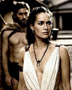 Lena Headey as Queen Gorgo. One of my favorite female characters ever.