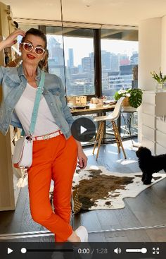 How to wear in 4 different ways -amazing by Violet! Saddle Bags, Spring Fashion, Capri Pants, Amazing, How To Wear, Collection, Fashion Spring, Capri Trousers, Sling Bags