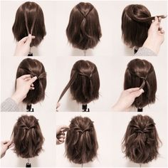 Simple Hairstyle | Pinterest: heymercedes