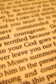 He gives us the courage to face our fears.