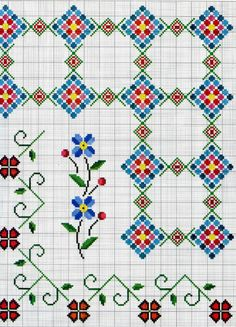 Cross Stitch Boards, Cross Stitch Rose, Cross Stitch Flowers, Cross Stitching, Cross Stitch Embroidery, Cross Stitch Designs, Cross Stitch Patterns, Blackwork Patterns, Quilt Tutorials