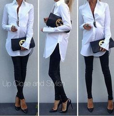 Wish I looked this good pregnant! Love this outfit!