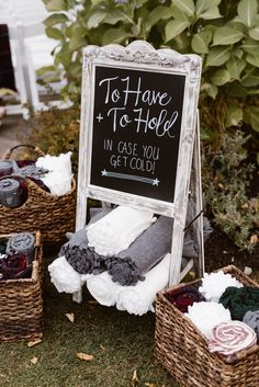 ALL THE HEART EYES for this plum and burgundy velvet wedding! The beautiful details and how Kylee and Jill weaved their personalties into their wedding day will make us go pinning and gawking for days tirelessly. Cozy blankets for the guests to wear during the ceremony should be a must at every fall wedding!