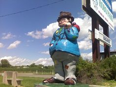 World's largest hobo, Hobo Park, Starbuck, MN--my hometown! Who would have guessed I'd find it on Pinterest!