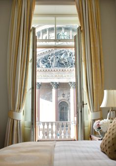 A honeymoon suite fit for royalty. Welcome to your personal palace at @Four Seasons Hotel Lion Palace St. Petersburg.