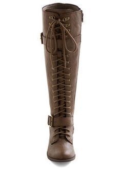Assured and Swift Boot, #ModCloth