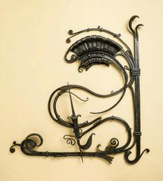 John Weiner forged sculpture