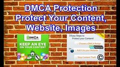 DMCA Protection | Protect Your Content, Website, Images Make Money Online, How To Make Money, Website Images, Work Ethic, Guitar Lessons, Ads, Content, Tools, Education