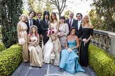 Celebrity Couple's Family  Photography: Marc Royce Photography Read More: http://www.insideweddings.com/weddings/courtney-bingham-and-nikki-sixx/573/