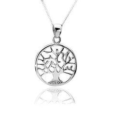 http://ift.tt/1msSZav 925 Silber Kettenanhänger Baum Schmuck Anhänger Lebensbaum 22x31mm für Halskette aus massivem 925 Sterling Silber #KA-5 #hungje&&