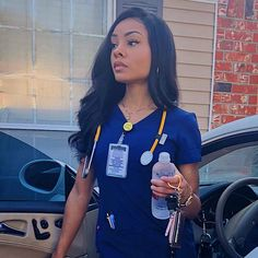 Image may contain: 1 person Life Goals Future, Future Career, Job Goals, Nurse Aesthetic, Nursing Goals, Beautiful Nurse, Cute Scrubs, Nurse Bag, Cute Nurse