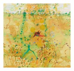 John Olsen (born 1928) Birds Egg like Heaven, 1990